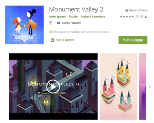 Read more about the article Free Game of the week – Monument Valley 2