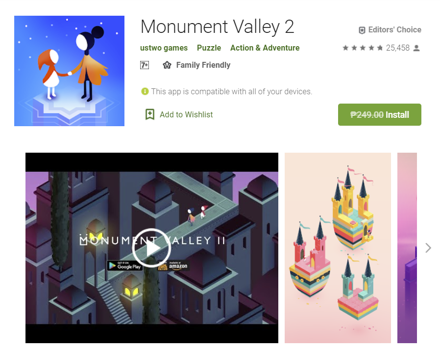 Free Game of the week – Monument Valley 2